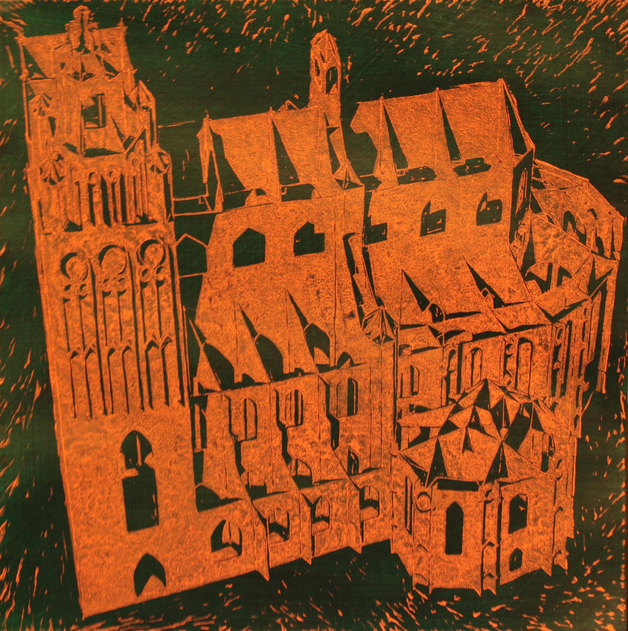 Jedna z prac Przemysława Klimka