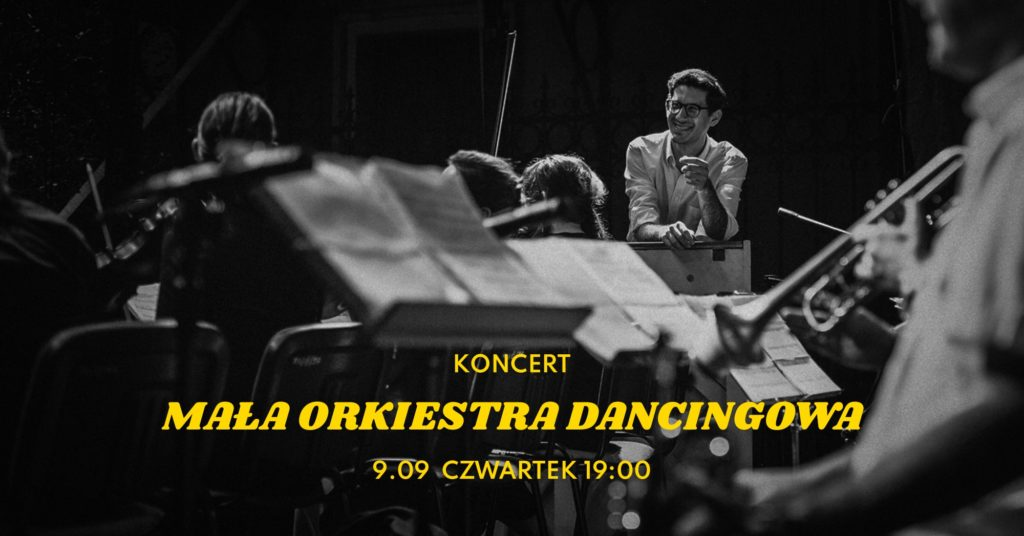 Mała orkiestra dancingowa w weekend na Żoliborzu i Bielanach